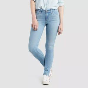 Levi's Women's 711 Mid-Rise Skinny Jeans